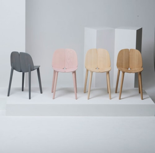 Chairs by Mattiazzi Italy seen at In Situ, San Francisco - Osso Chair