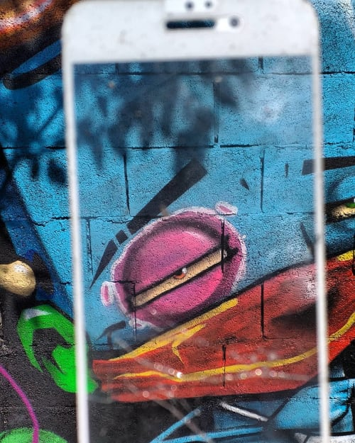 Street Murals by Ignoto graffiti seen at Itaquera - Street art