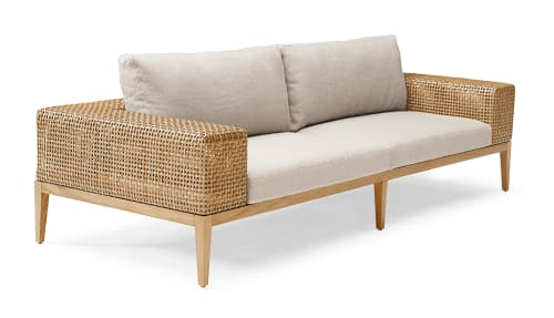 Couches & Sofas by Kenneth Cobonpue seen at Four Seasons Resort Oahu at Ko Olina, Kapolei - Tropez Sofa and L-Sofa