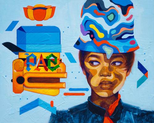 Samuel Rodriguez aka Sam Rodriguez - Murals and Street Murals