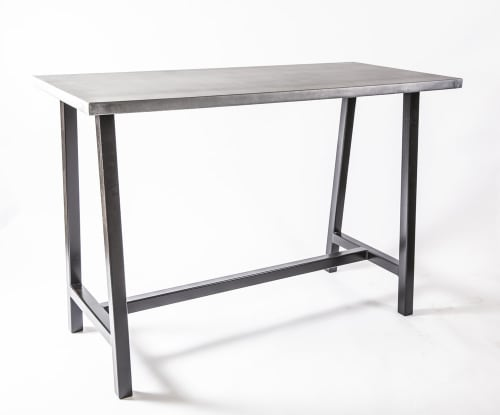 Tables by Iron Mountain Forge & Furniture seen at Trac75, Boston - Zinc Tables