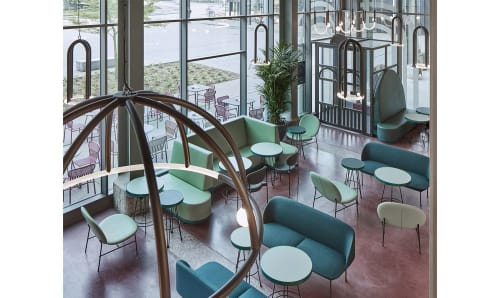 Interior Design by Studio Modijefsky seen at The Commons Restaurant Maastricht, Maastricht - Interior Design
