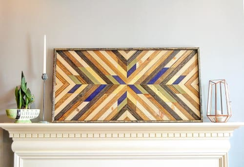 Wall Hangings by Sweet Home Wiscago seen at Private Residence, Chicago - Custom Home Decor