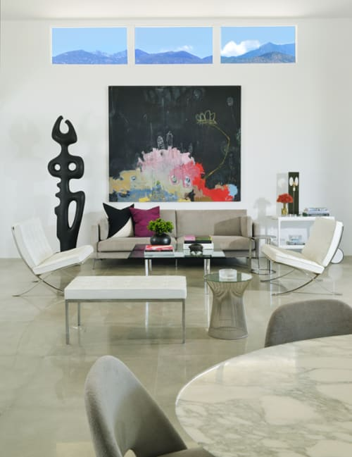 Paintings by Wyman Lancaster seen at Private Residence, East Canyon Estates Drive, Palm Springs - Paintings