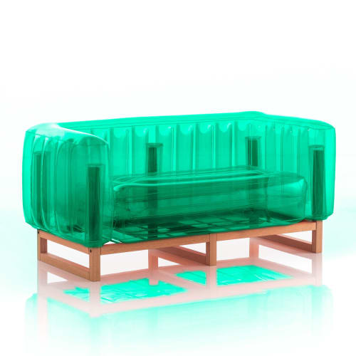 Couches & Sofas by MOJOW seen at Private Residence, Paris - YOMI Wood Sofa