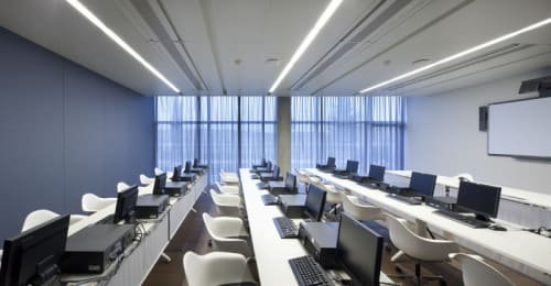 Lighting by Voltaire Lighting Design seen at Diesel, Valrovina - Diesel Headquarters