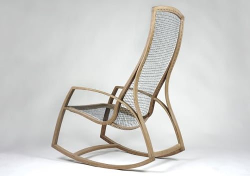 Chairs by Reed Hansuld at Reed Hansuld Fine Furniture, Brooklyn - Rocker No. 2