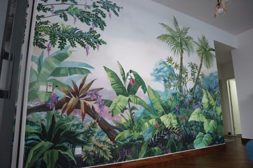 Murals by Yaul Acap seen at Lakeville Residences, Batu Caves - Residence Mural