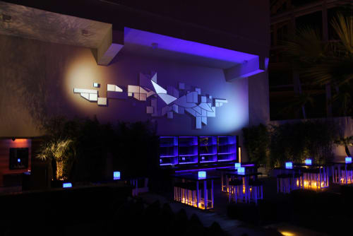 Sculptures by URBANSCREEN seen at Four Seasons Hotel Beirut, بيروت - 26TH FLOOR