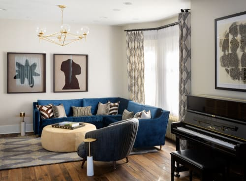Interior Design by Pulp Design Studios seen at Private Residence, Seattle - Nod to Nautical