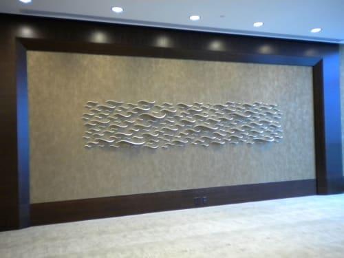 Sculptures by Tabbatha Henry Designs seen at JW Marriott Marquis Miami, Miami - Las Olas