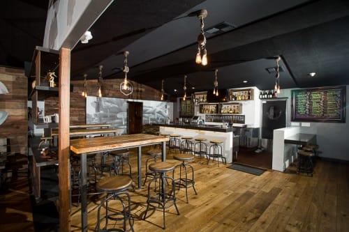 Interior Design by Moniker Design at Priority Public House, Encinitas - Interior Architecture