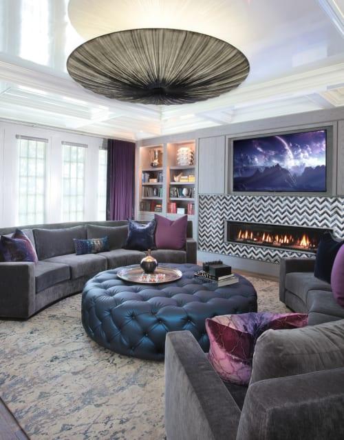 Interior Design by New York Interior Design seen at Fern Drive, Roslyn - Interior Design