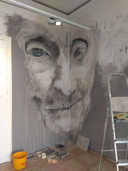 Murals by Laura9, Laura Tietjens seen at Sant Boi de Llobregat, Sant Boi de Llobregat - Old lady