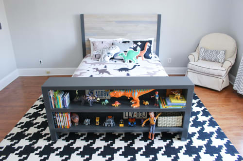 Beds & Accessories by 3x3 Custom seen at Private Residence, Bergen County - Bookshelf Bed