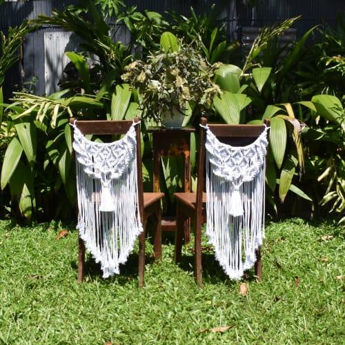 Art & Wall Decor by Hanging Around Macrame seen at Cairns, Cairns - Macrame Wedding & Event Decor