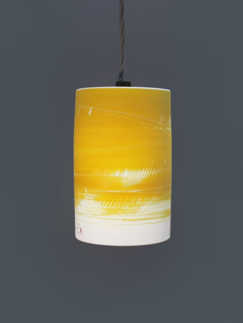 Lighting Design by Ali Tomlin ceramics seen at Private Residence - Alison Tomlin