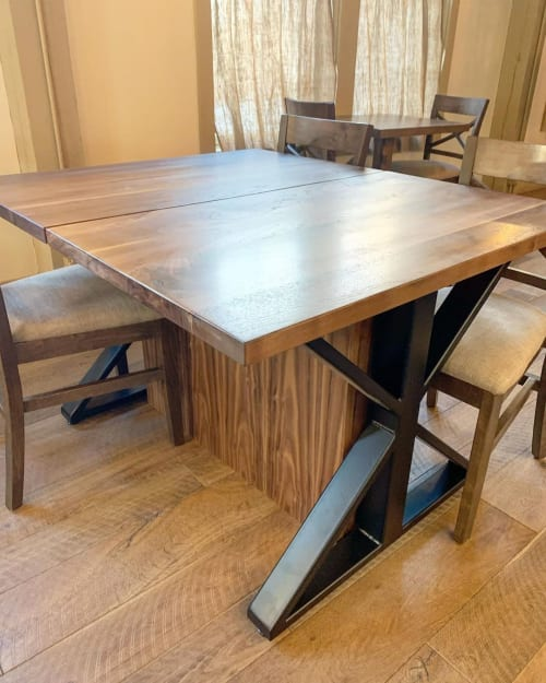 Tables by Lighthouse Woodworks seen at Grove, Rowley - Wooden Tables