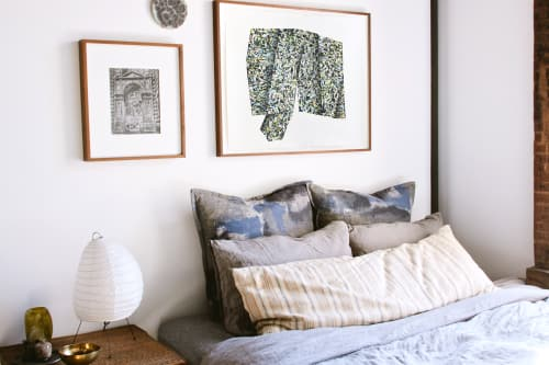 Art & Wall Decor by Print Club Ltd. seen at Private Residence, Brooklyn - Cody Hoyt - Surface: Oblique Vessel (Projection)
