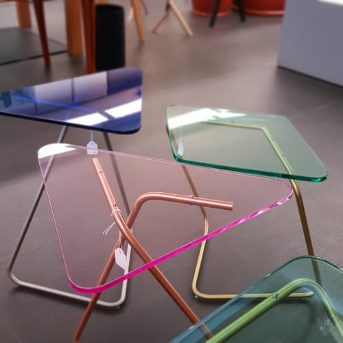 Tables by KRAY Studio by Rita Kettaneh seen at Sel Et Poivre - Alessi, Bayrut - The Triangle
