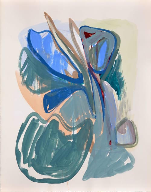 Paintings by Pauline Galiana seen at Private Residence, New York - Inside_41