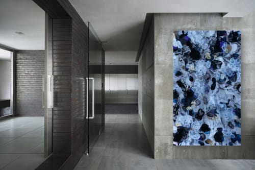 Paintings by Christina Twomey Art + Design seen at Private Residence, New York - ORCHID