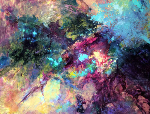 Nebula | Paintings by Marina May Raike