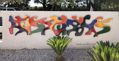Murals by The Sculpture Studio LLC seen at Private Residence, Las Vegas - Untitled