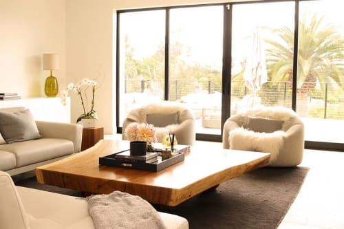Tables by Open Door Furniture seen at Private Residence, San Diego - Coffee Table