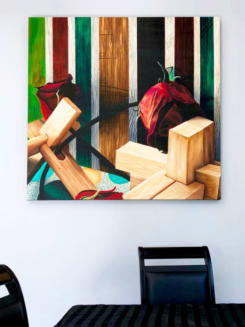 Paintings by Melissa Patel seen at Private Residence, Toronto - Gift Box