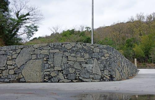 Architecture by Kees Ouwens seen at Matsuyama, Matsuyama - Stone Wall.