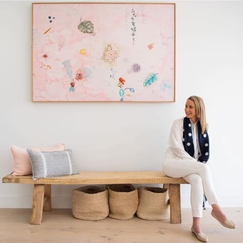 Paintings by Fleur Woods seen at Private Residence, Young - Flora