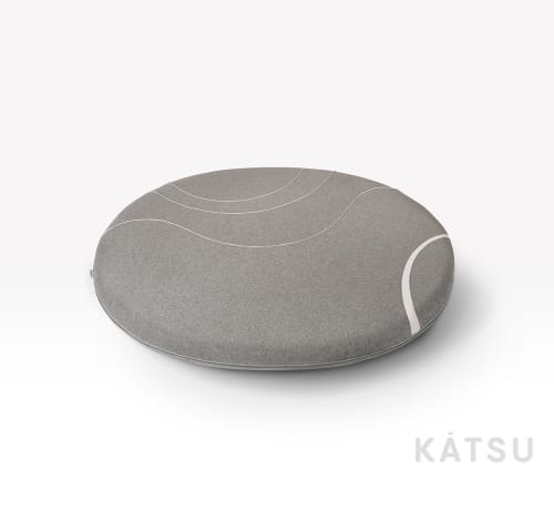 "Rugs by Katsu seen at Katsu Studio, Saint Petersburg - Sewed ""Island"" for play and rest"