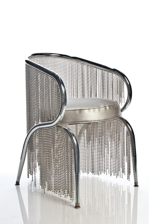 Sculptures by Beth Kamhi seen at Expo Chicago, Chicago - Bling Bling  Chairs