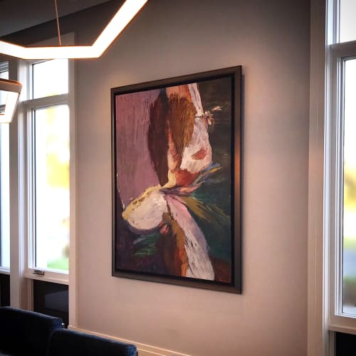 Paintings by Shar Coulson seen at Private Residence - FaunaFloraFigure107