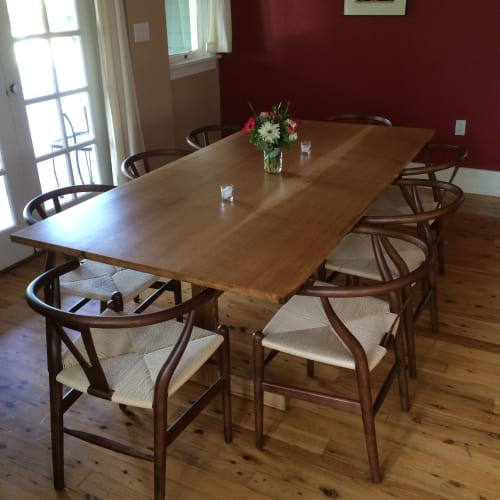 Tables by IW (Integration Workshop) at Private Residence, Portland - Dining Table