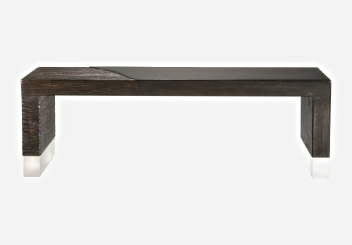 Benches & Ottomans by Andi-Le at Private Residence, Aspen, Aspen - Alluvium Bench
