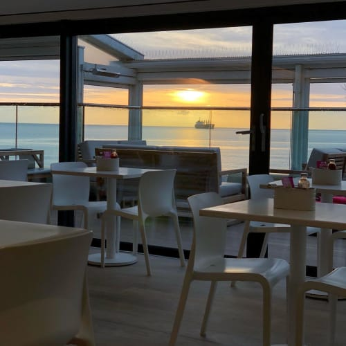 POP Chair | Chairs by Origin Furniture | Gylly Beach Cafe in Falmouth