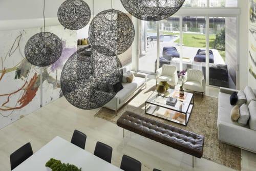 Pendants by Bertjan Pot seen at Private Residence, Golden Beach, FL, Golden Beach - Random Light