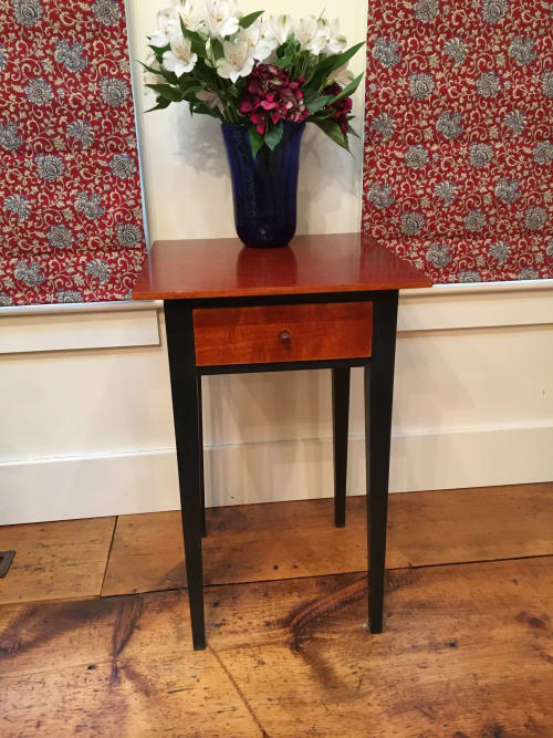 Tables by Fletcher House Furniture seen at Fletcher House Furniture, Westford - Shaker Style Nightstand
