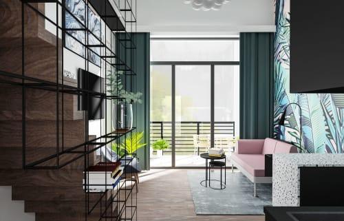 Interior Design by Beata Wyrzycka seen at Creator's Studio, Kraków - Micro apartment