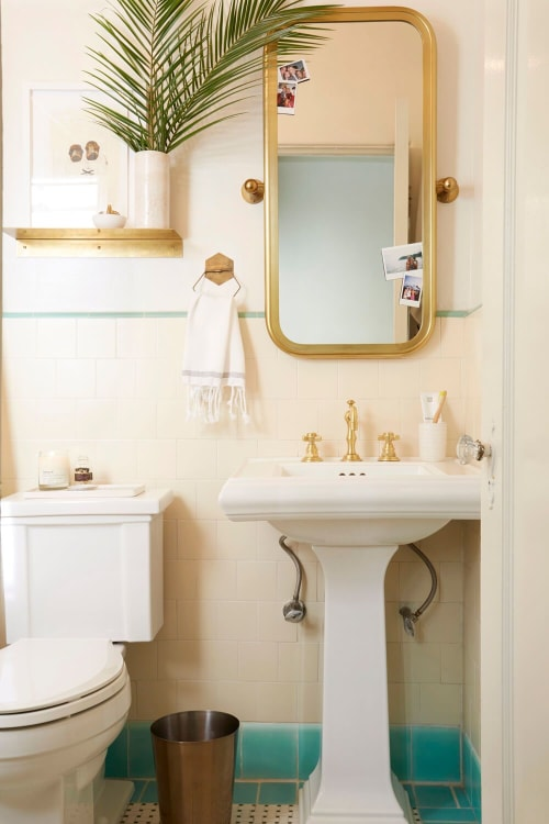 Interior Design by Brady Tolbert seen at Private Residence, Los Angeles - Vintage Spanish Bathroom