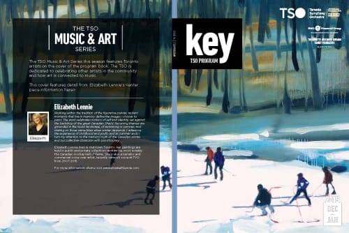 Art Curation by Elizabeth Lennie seen at Toronto, Toronto - TSO Program Guide 2015