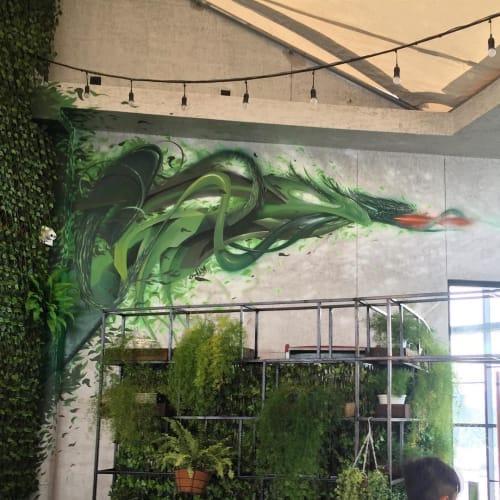 Murals by Chuck Mayfield seen at Skylight Nha Trang, Thành phố Nha Trang - Skylight Mural