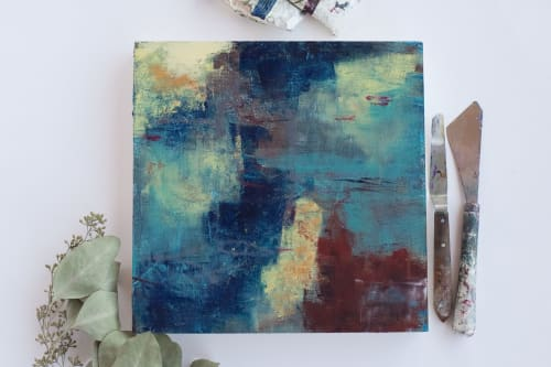 Paintings by Ella Creates seen at Private Residence, Wilmington - City by the River