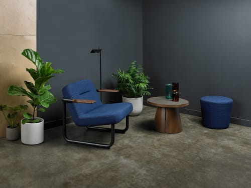 Chairs by Memo Furniture seen at Fulcrum Coffee Roasters, Seattle - Chroma Lounge