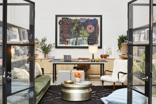 Interior Design by Sarah Shetter Design, Inc. at Los Angeles, Los Angeles - Irene Neuwirth Office