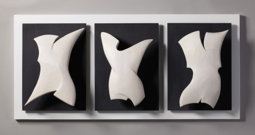 Sculptures by Erik Wolken seen at Private Residence - I Have No Mouth But Must Scream #1