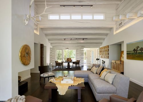 Interior Design by CLB Architects seen at Private Residence, Jackson - Yellowbell