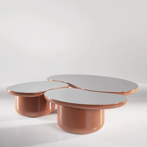 Tables by SECOLO seen at Creator's Studio, Milan - Laghi Small Coffee Table